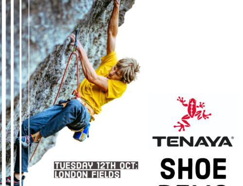 Tenaya Shoe Demo at Stronghold